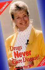 drugs never cure disease